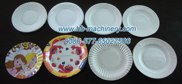 4--9 英寸的 圆形纸碟纸盘:一次性纸碟、一次性纸盘