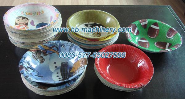 纸碗、用纸碟机生产的纸碗